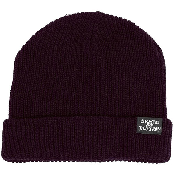 Skater Beanie With the Folded Part