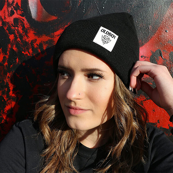 Oldboy Knit Beanie Hat for Skaters
