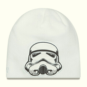 White Stormtrooper Star Wars beanie