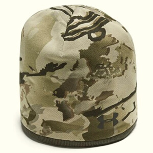 Reversible Under Armour camo beanie