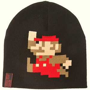 Bricks logo Super Mario beanie for adults