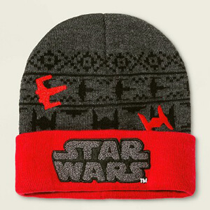 Gray Star Wars beanie for kids