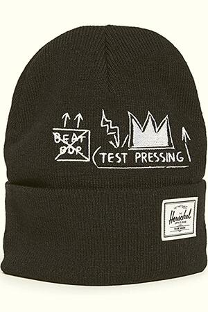 Black Basquiat Beat Bop Herschel Elmer beanie