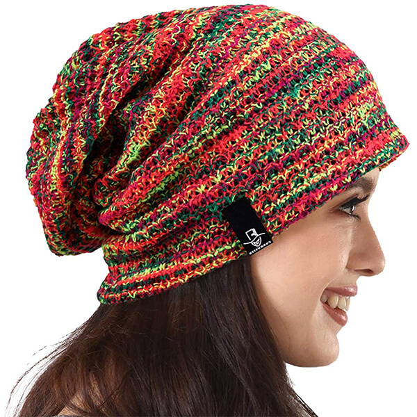 Colorful Women's Slouchy Beanie