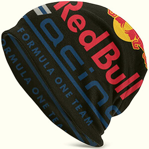 Slouchy Red Bull Racing beanie with a huge script