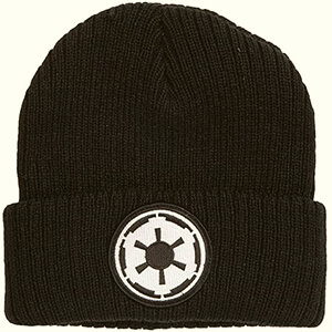Black Galactic Empire Logo Star Wars beanie