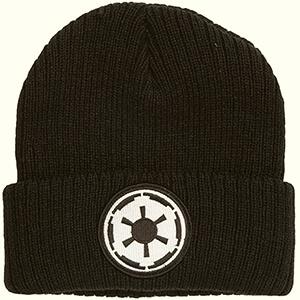 Black Galactic Empire Logo Star Wars beanie