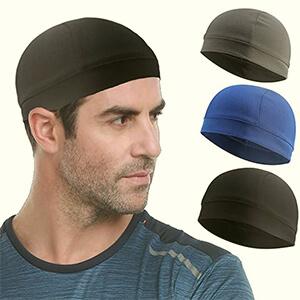 3 pieces set beanie under helmet style