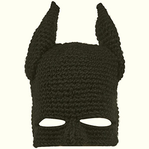 Knit Batman funny hats for guys