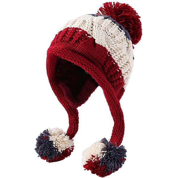 Winter Peruvian Beanie Ski Hat for Women