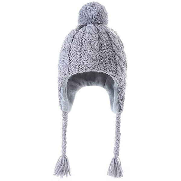 Girls' Winter Hats with Earflaps