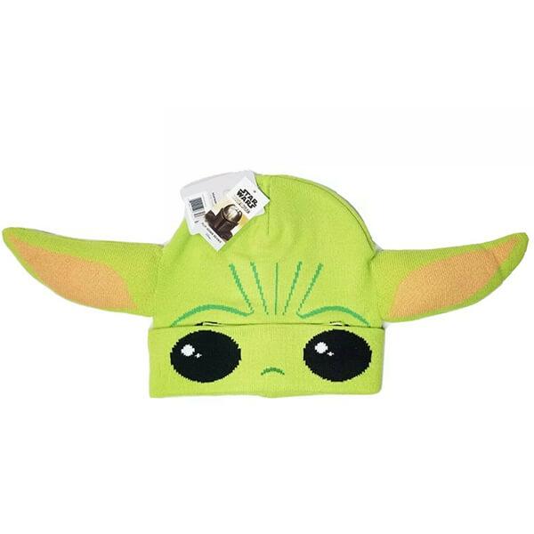 Star Wars The Mandalorian Baby Yoda Flip Down Beanie
