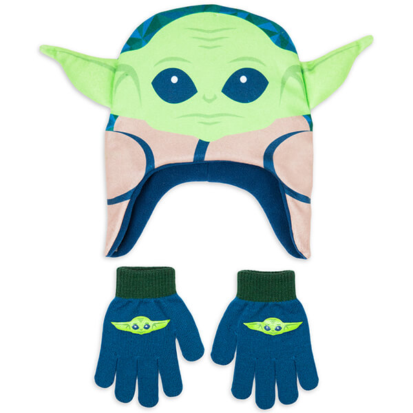 Yoda Beanie and Glove Set