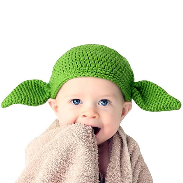 Yarn Hand-made Star Wars Baby Yoda Hat