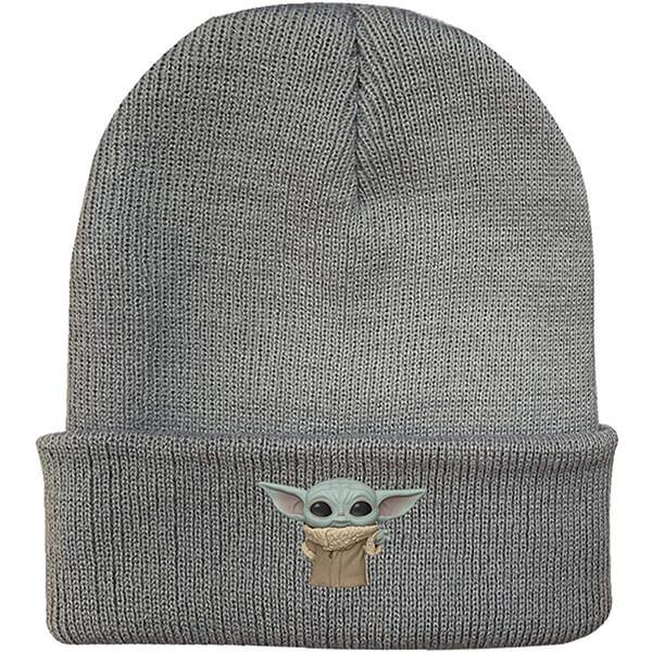 Baby Yoda Knitted Beanie