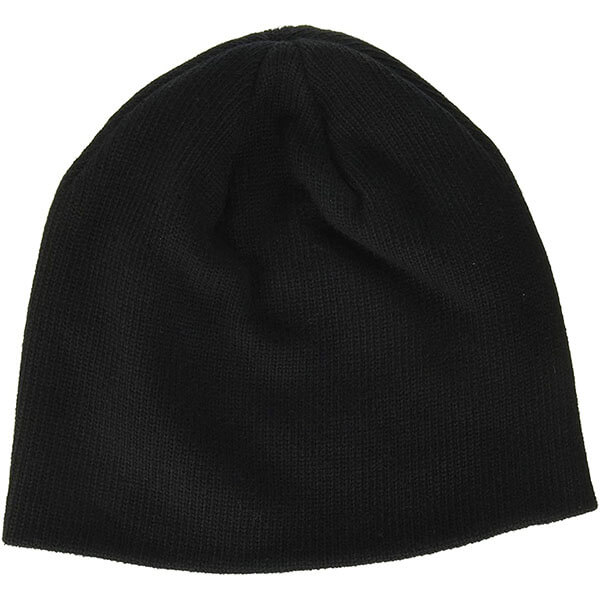 Organic Cotton Thin Rib Beanie