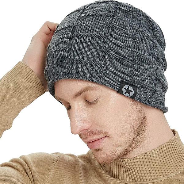 Skully Beanie Hat for Men