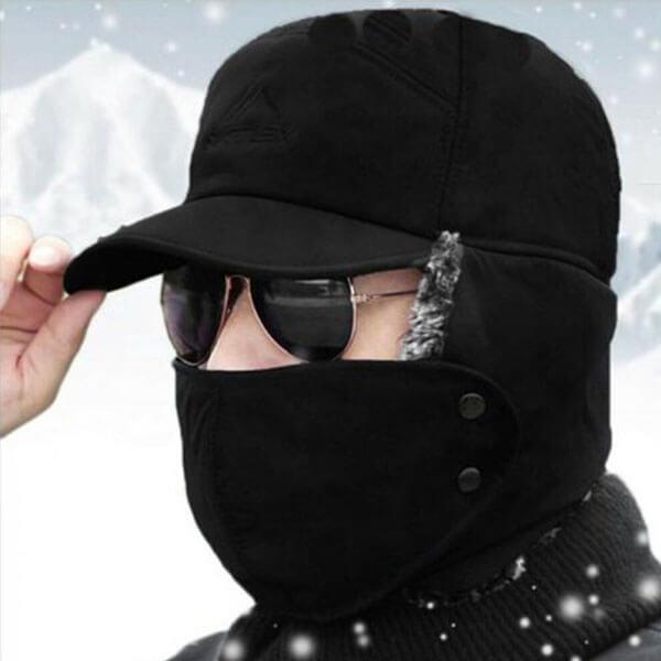 Trapper Style Men's Winter Beanie