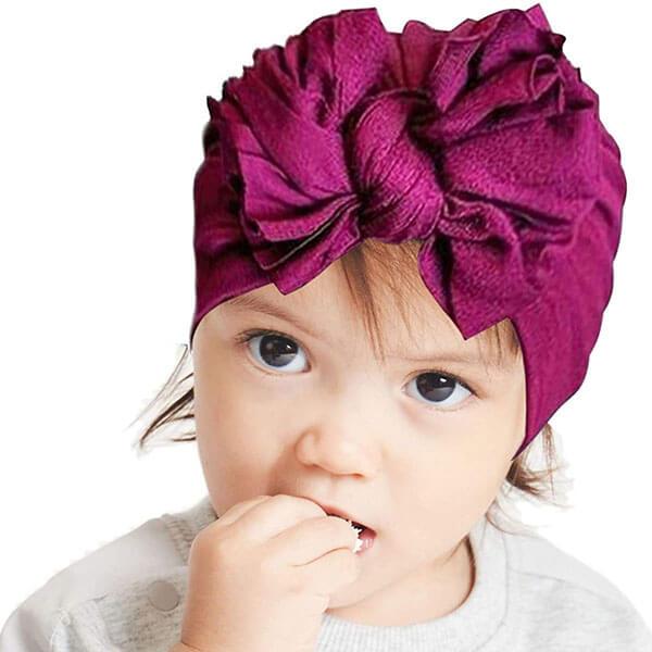 Beanie Head Wrap for Newborns
