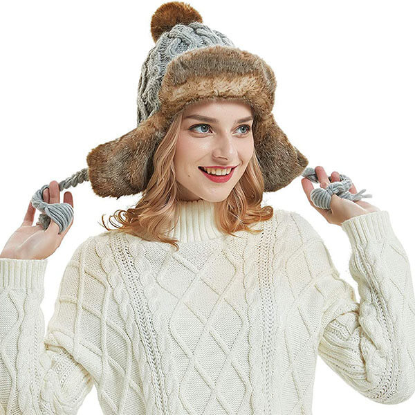 Crochet Tassel Peru Beanie