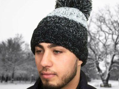 Pom Pom Winter Beanie Hat