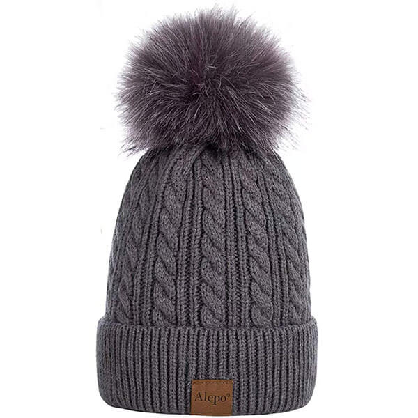 Women's Oatmeal Winter Hats