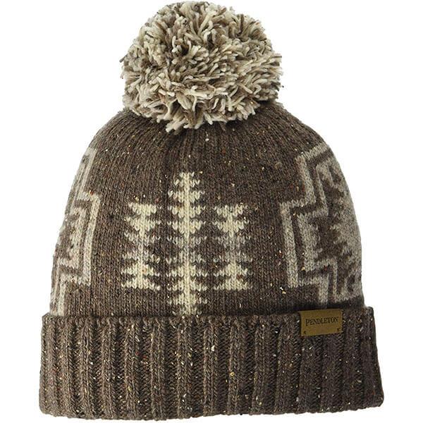 Wool Pom Winter Hat For Women