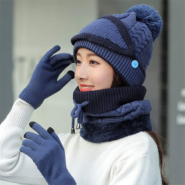All-Inclusive Winter Beanie Set