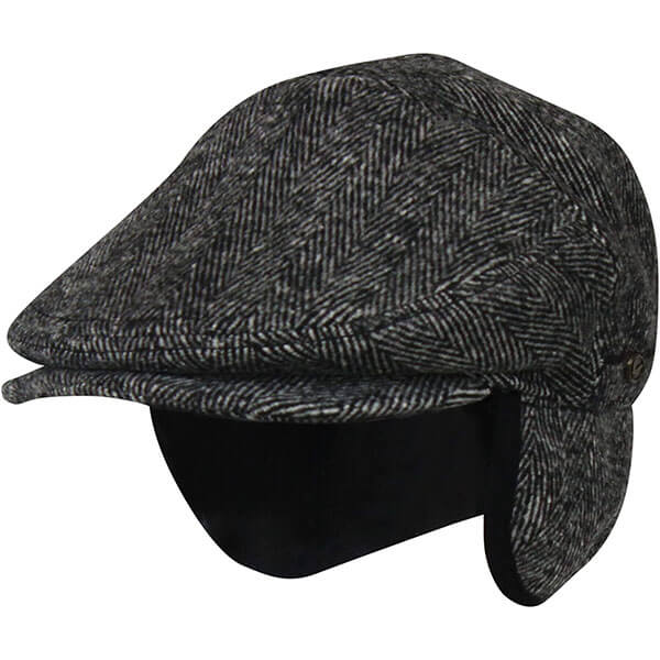 Men's Winter Ivy Hat With Ear Flaps