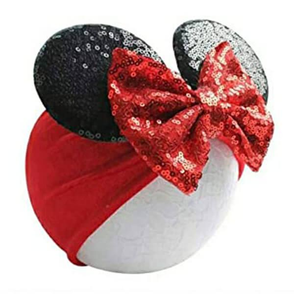 Mouse Ear Head-wrap Beanie