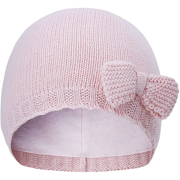 Bow Knot Toddler Beanie for Girls