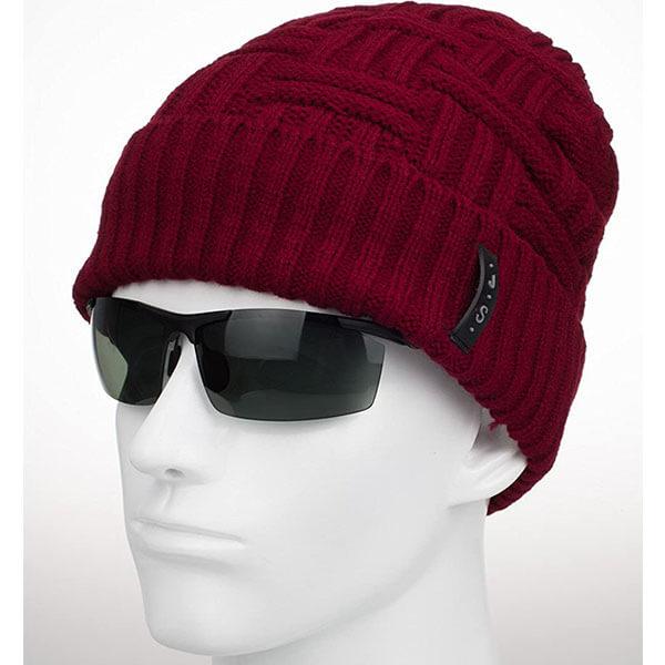 Men's Winter Knitted Beanie Hat