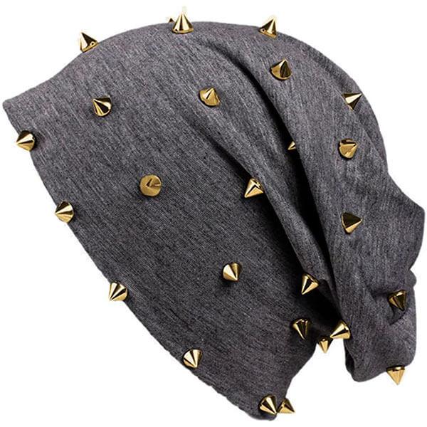 Unisex Spiked Beanie Hat