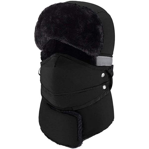 Windproof and Waterproof Ski Beanie Hat