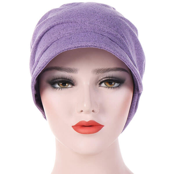 Beanie Cap with Turban Hat