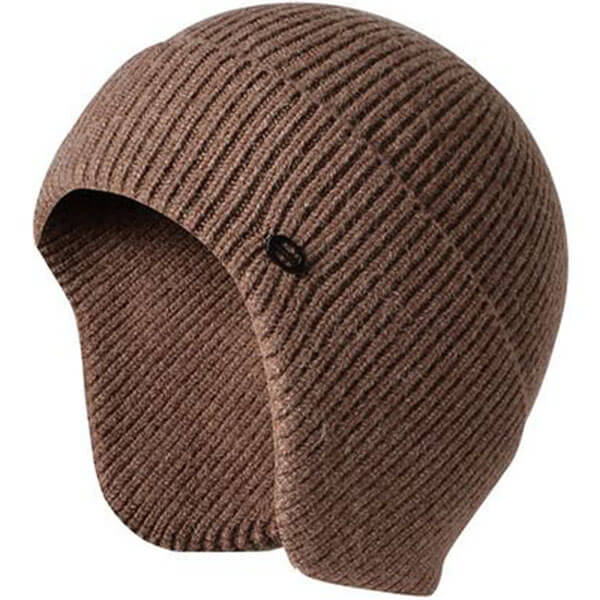 Fleece Lined Men's Winter Caps With Ear Flaps