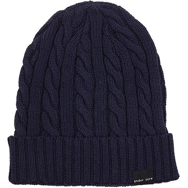 Men's Winter Cable Knit Hat