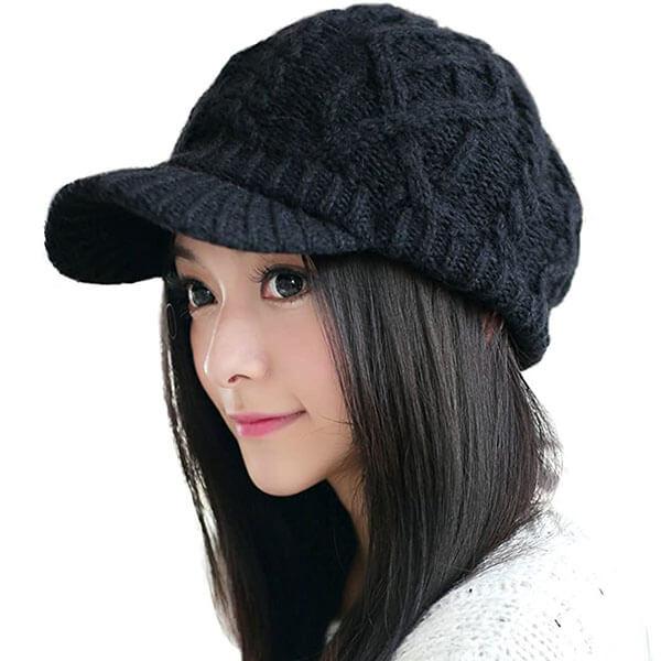 Fleeced Lined Yarn Hats