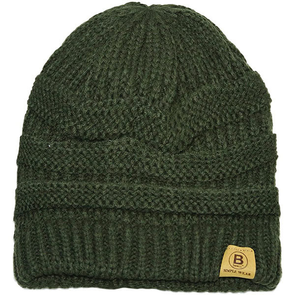 Knitted Beanie Hat for Men