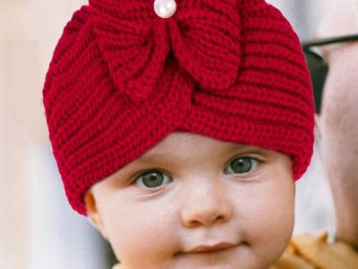 Knitted Beanie Hat for Women