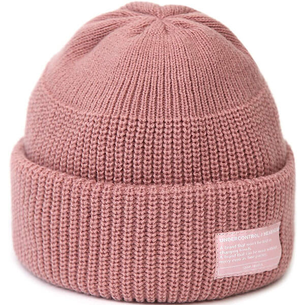 Stylish Plain Winter Fisherman Beanie