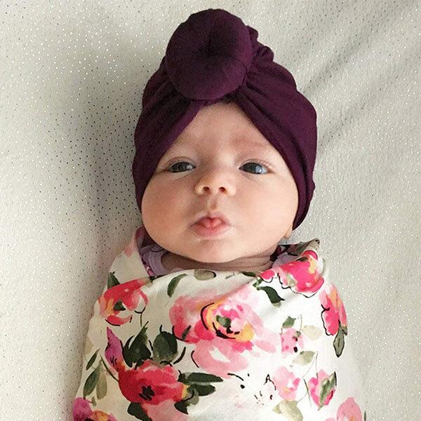 Turban Beanie Hats for Babies