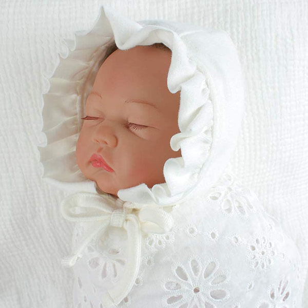Soft Cotton Beanie Hat for Newborns