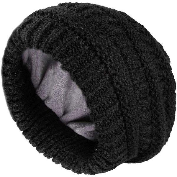 Chunky Winter Knit Beanie Hat