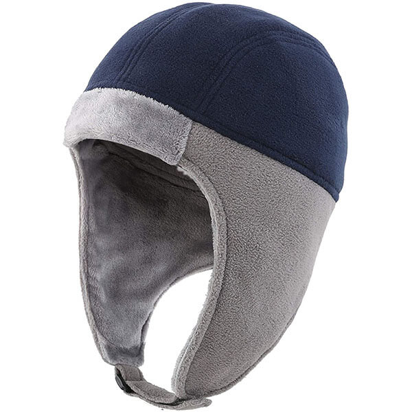 Men's Thermal Fleece Winter Beanie With Earflaps
