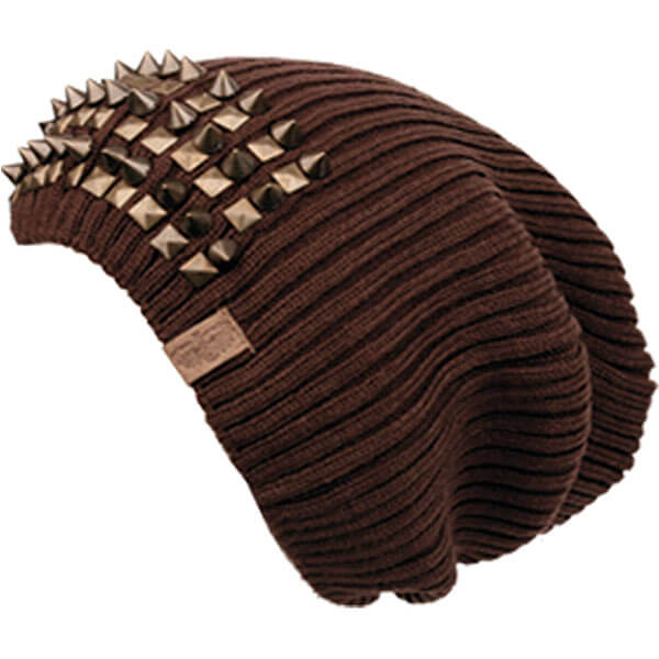 Over Sizes Studded Slouchy Beanie
