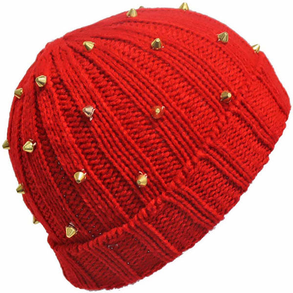 Beanie Hat with Spikes