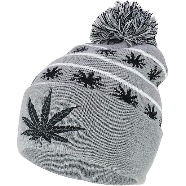 Men's Pom Pom Acrylic Beanie Hat