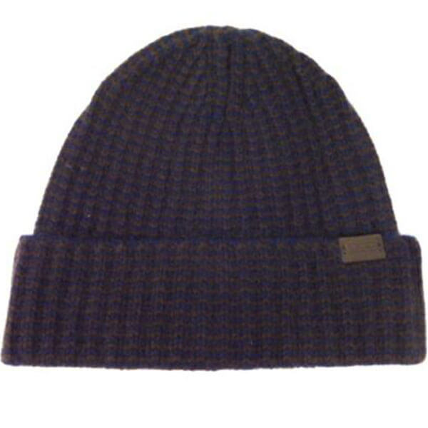 Solid Rib-Knit Beanie For Men