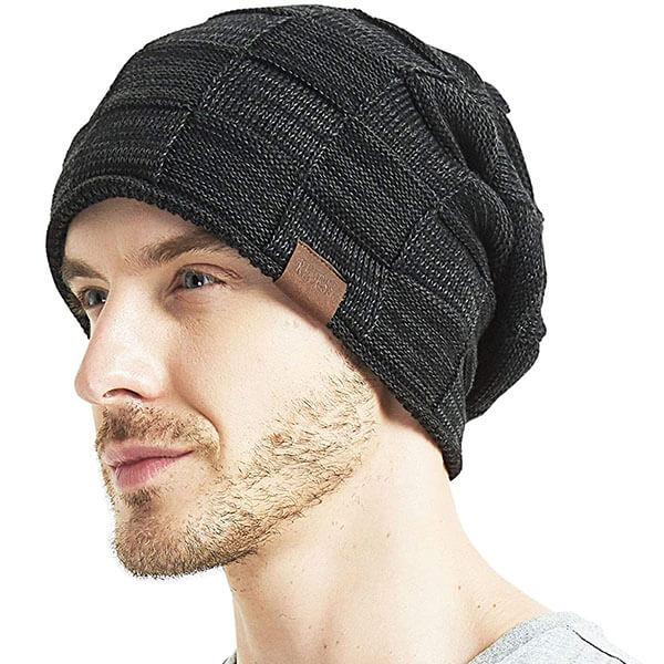 Unisex Slouchy Skull Beanie Hat